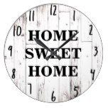 Shop Shabby Chic White Wood Rustic Farmhouse Kitchen Large Clock created by printabledigidesigns. Personalize it with photos & text or purchase as is!