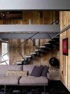 midcentury mod meets mountain shack