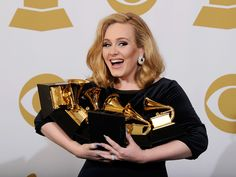 Adele wins SIX Grammys!