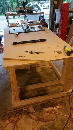 I've been looking at a lot of similar workbenches for a while, trying to find the right set up that would best utilize my woodworking tools and the space I have. I...