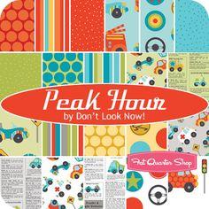 Peak Hour, @Riley Blake, March 2012. LOVE! Hard to find great boy prints.