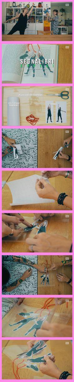 un lavoretto per non perdere mai più il segno durante una lettura! Appendetevi tra le righe  Seguici anche su: http://www.rsi.ch/kiwi http://www.facebook.com/RSIvuoiqueikiwi