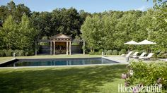 A Greek-temple garden folly at Highgrove House, the country residence of Prince Charles, inspired th... - Francesco Lagnese