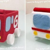 牛乳パックでおもちゃの車 | 手作りおもちゃで子育て