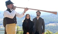Princess Sofia and Prince Carl Philip stepped out on September 30 for the inauguration of the Hykjebergets Nature Reserve in Älvdalen, Sweden.