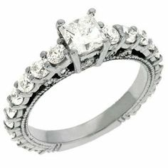 14K White Gold 1.24cttw Princess Diamond Semi Mount Engagement Ring Jewelry Pot. $3056.99. 100% Satisfaction Guarantee. Questions? Call 866-923-4446. All Genuine Diamonds, Gemstones, Materials, and Precious Metals. Fabulous Promotions and Discounts!. 30 Day Money Back Guarantee. Your item will be shipped the same or next weekday!