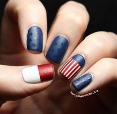 What better way to celebrate Flag Day with these flag nails and designs? You'll love these funky flag-inspired ideas that totally spell