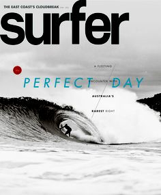 surfer magazine cover, issue June/2012 | Magazine Cover: Graphic Design, Typography, Photography |
