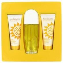 Sunflowers By Elizabeth Arden Gift Set 3.3 Oz Eau De Toilette Spray + 3.3 Oz Hydrating Cream Cleanser + 3.3. Oz Body Lotion (pack of 1 Ea) X662-FX9656