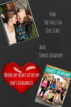 When your heart is broken by a kid dying on screen, after your child's diagnosis. Dance Academy, My Heart Is Breaking, Essential Oils, Kids, Young Children, Boys, Children, Children's Comics, Boy Babies