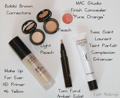 Sketchbook: Thoughts About Color Correctors Mac Studio Finish Concealer, Cafe Makeup, Corrector Concealer, Diy Body Scrub, Beauty Must Haves, Makeup Obsession, Makeup Addict, Diy Beauty, Bobbi Brown