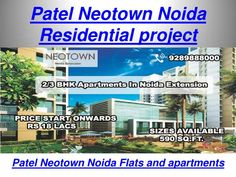 Patel Group unveils its Eco-friendly residential project at Noida Extension as…