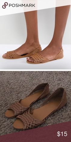 fb162fb412a71 Asos Juan Leather Summer Shoes. Asos Shoes · Weave Styles · Summer Shoes · Open  Toe ...