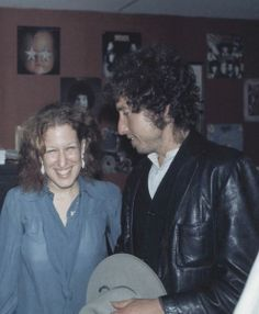Bobby, with Bette Midler 1975