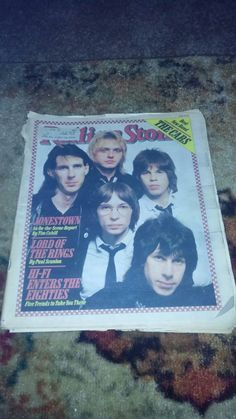 Check out this item in my Etsy shop https://www.etsy.com/listing/222196679/the-cars-rolling-stone-1979