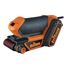 Shop Triton Tools Wide Palm Belt Sander at Lowe's Canada. Find our selection of hand sanders at the lowest price guaranteed with price match. Triton Tools, Dewalt Tough System, Electronic Recycling, Recycling Programs, Garage Workshop, How To Make Light, Diy Tools, Home, Atelier