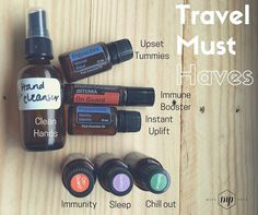 On Tuesday we're flying high over the Pacific and I'm glad I found this post by Mish!  I'm definitely bringing oils with me and I have already made the hand cleanser but also a spray to wipe down the airplane tables... I read horrific things about those they are dirty (and not the kind of dirt you can see!) You can make your own hand cleanser using on guard cool boil distilled water a little bit of witch hazel and if you want you can add a bit of vitamin E to it as well.  Digestzen is a must…