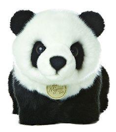 "Miyoni Tots Panda Bear 10"" Plush Cute Stuffed Animal Great Detail Gift for Girl #Aurora"