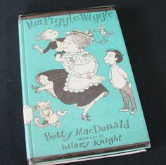 Mrs Piggle Wiggle Vintage Ex Lib Betty MacDonald Hilary Knight Hardcover