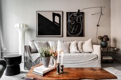 decordemon: Surbrunnsgatan Elegant Swedish apartment in neutral shades Room Decor, Room Inspiration, Decor, Interior Design, House Interior, Living Room Decor, Home, Interior, Cozy Space