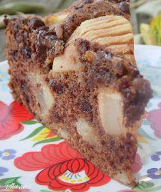 teller-cake: Francia körtetorta csokoládéval - helló ősz! :-) Banana Bread, Tart, French Toast, Cooking Recipes, Sweets, Breakfast, Food, France, Sweet Pastries
