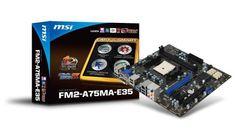 MSI AMD FM2 MB 16GB by MSI COMPUTER. $124.46