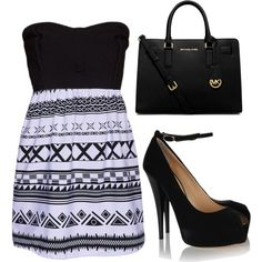 A fashion look from January 2015 featuring Hurley dresses, Giuseppe Zanotti pumps and Michael Kors handbags. Browse and shop related looks.