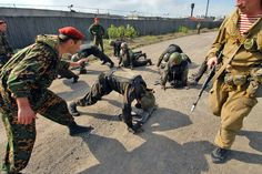 Spetsnaz suffering physical endurance and mental testing from instructors http://www.specialforcesnews.com/2015/08/spetsnaz-battle-for-the-beret/