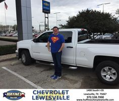 https://flic.kr/p/EYxznz | Happy Anniversary to Shawn on your #Chevrolet #Silverado 1500 from david Maynard at Huffines Chevrolet Lewisville | deliverymaxx.com/DealerReviews.aspx?DealerCode=UBM1