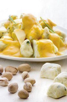 Gnocchi ai pistacchi in salsa di zucca - Tutte le ricette dalla A alla Z - Cucina Naturale - Ricette, Menu, Diete
