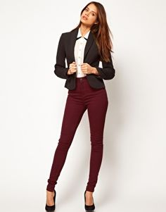 Black Blazer Maroon Pants Maroon Outfit, Maroon Pants, Boyfriend Blazer, Fall Winter Outfits, Fashion Outfits, Womens Fashion, Daughters, Style Ideas, Fashion Online