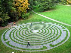 Hildesheim #Labyrinth My dream garden would have a labyrinth!