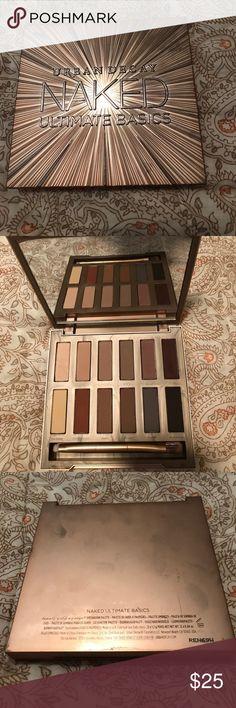 Urban decay naked ultimate basics palette Urban decay eyeshadows Urban Decay Makeup Eyeshadow