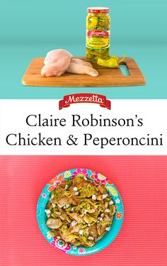 This quick and tangy dish is a quick way to enjoy that backyard barbecue flavor without leaving the comfort of your kitchen. Learn how to whip up Claire Robinson's Chicken and Peperoncini using Mezzetta's Deli-Sliced Golden Greek Peperoncini.