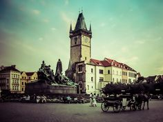 Prague Old Town Square by Alistair Ford Prague Old Town, Old Town Square, Travel Images, San Francisco Ferry, Ford, Building, Buildings, Ford Trucks, Ford Expedition