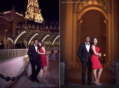 Las Vegas Wedding Photographers, Las Vegas Event Photographers, Exceed Photography, Red dress, Creative wedding photos ideas