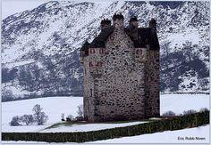 L'Assommoir. Forter Castle, Kirkton of Glenisla, Perthshire, Scotland by Eric Robb Niven