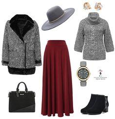 Бордовый цвет - модная находка для женщин 50+
