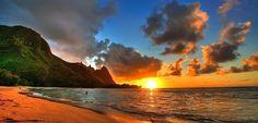 Kauai um paraiso no Havai - Bilhete de Viagem
