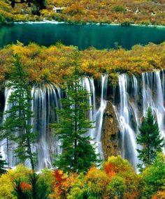 ✯ Jiuzhai Valley National Park - China