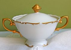Brenton Regency Porcelain Sugar Serving by AnythingDiscovered