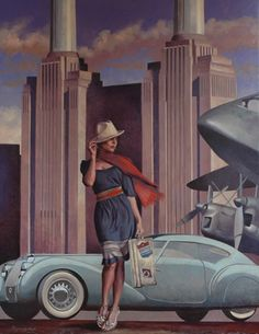 Peregrine Heathcote Peregrine Heathcote's paintings conjure a world of intoxicating glamour and intrigue, slipping across the boundari...