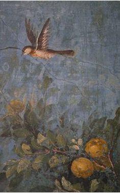 Roman fresco : Villa Livia