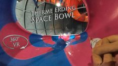 Therme Erding Space Bowl 360° VR POV Onride