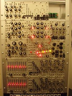 Wild fact of the decade: the single largest synthesizer built from modules I designed is in Tasmania.