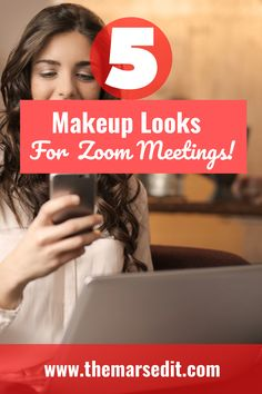 Zoom meetings have become the new norm. If you are looking for some makeup tips to make you camera ready, you are in the right place. These super easy and quick makeup tips for zoom meetings will help you defy the webcam and make you look flawless on camera. #zoommakeuplooks #flawlessmakeup #skinimalism Quick Makeup, Makeup Tips, Pull Off, Makeup Techniques, Flawless Makeup, Mars, Avon, Super Easy, Makeup Looks