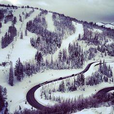 Instagram's myriesh is hitting the slopes at the Stein Eriksen Lodge in Deer Valley, Utah.
