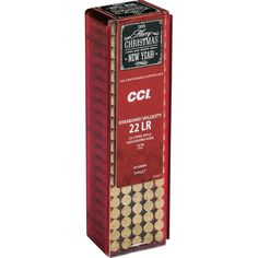CCI Holiday .22 LR 40 Grain LRN 100 Rds - $8.99 (Limit 5)