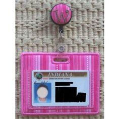 In The Hoop :: Women's Accessories :: Badge Reel ID Holders - Embroidery Garden In the Hoop Machine Embroidery Designs