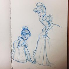 So inspired by @designerdaddy_ and his magical designs! Such beautiful costumes! #sketch #drawing #design #fashion #disney #costumes #cinderella #littlecinderella #beautiful #magical #princess #girls #sparkle #ballgowns